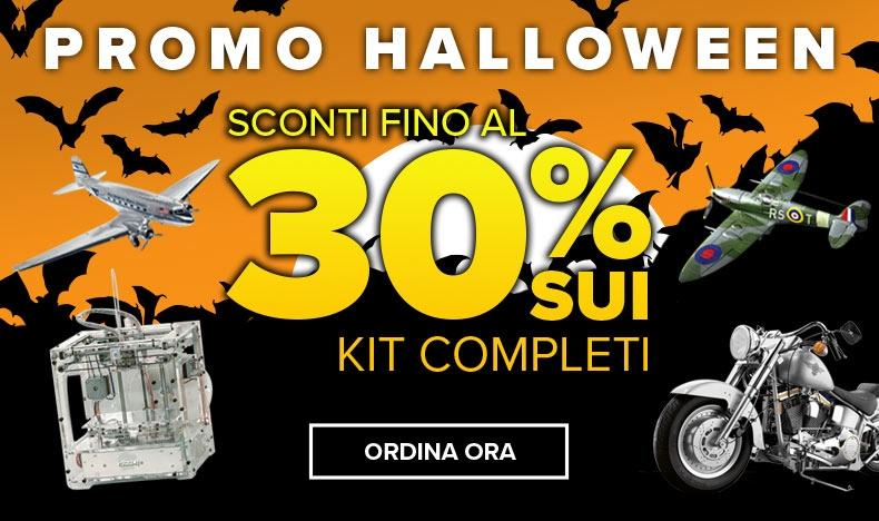 Promo Halloween sconti fino al 30%