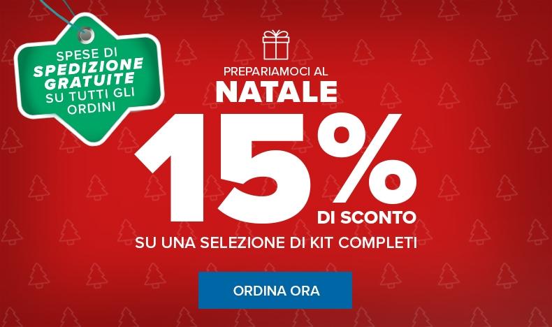 Prepariamoci al Natale sconto 15%