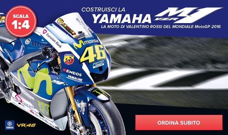 Costruisci la Yamaha di Valentino