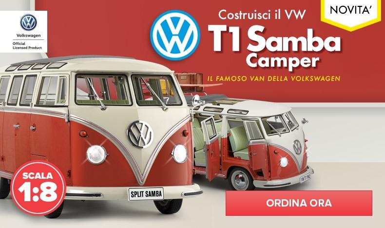 Costruisci il tuo VW T1 Samba Camper
