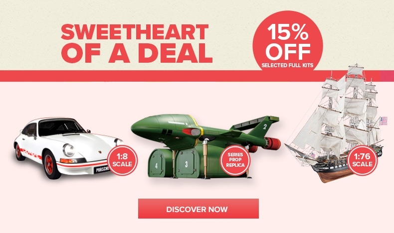 Sweetheart Deal - 15% Off