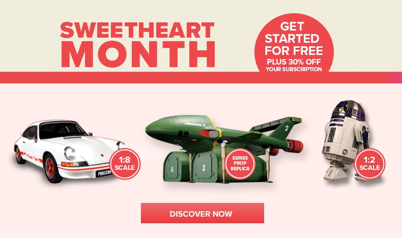 Sweetheart Month - Start for Free plus 30% Off