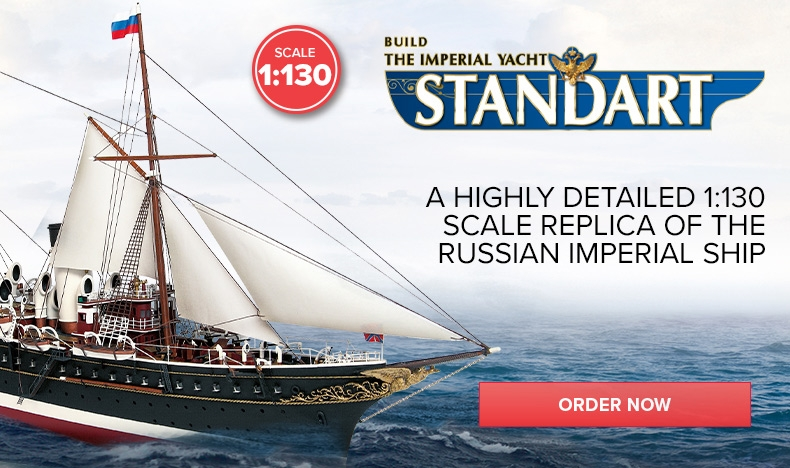 New - Build the Imperial Yacht Standart