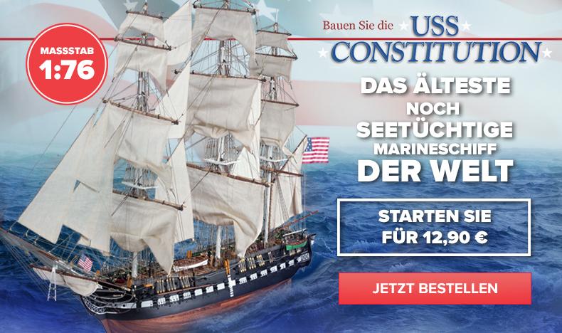 Bauen Sie die USS Constitution