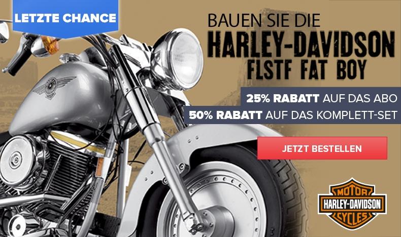 25% Rabatt auf das Harley-Abo
