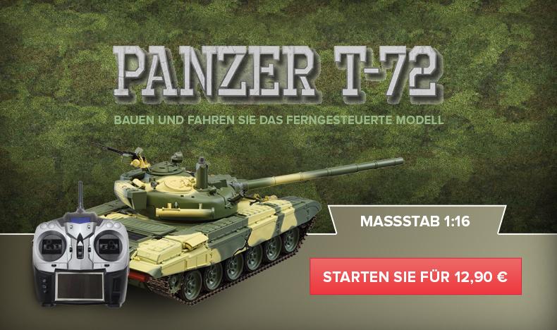 Baue und fahre den Panzer T-72