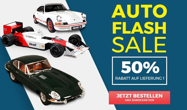 Auto Flash Sale: 50% Rabatt auf Lieferung 1