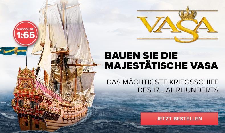 Bauen Sie die Vasa