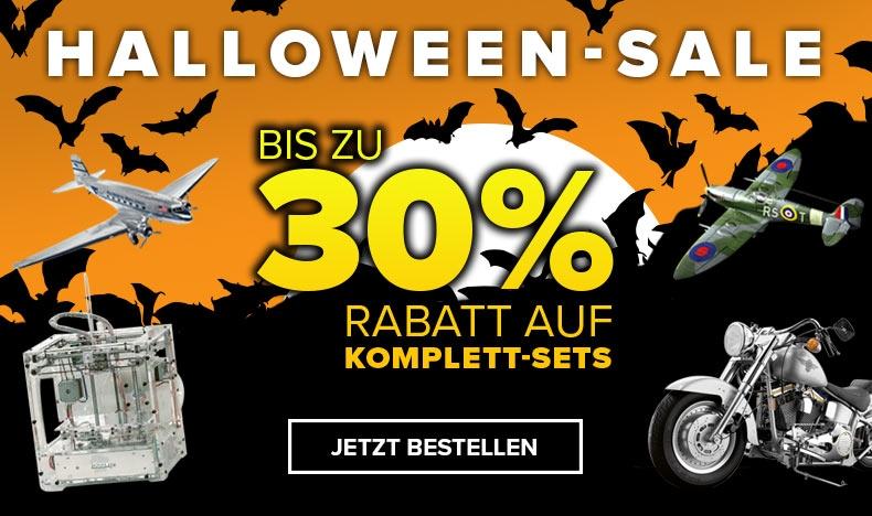 Halloween-Sale - Bis zu 30% Rabatt