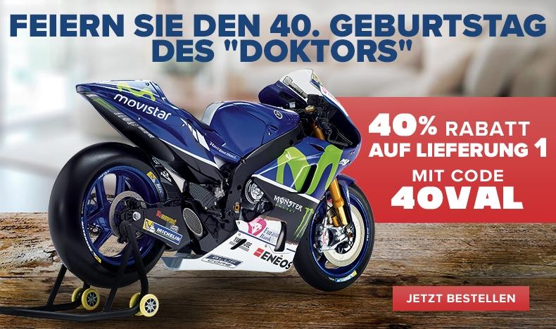 Rossi Geburtstagsrabatt - 40% Rabatt