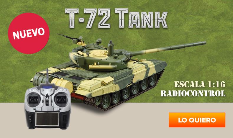 ¡Novedad! Construye el tanque de guerra T-72