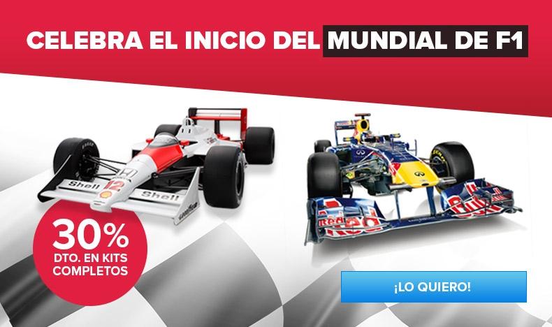 30% DTO. en Kits Completos F1