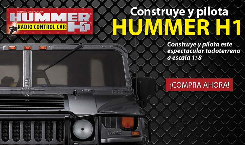 Construye y pilota el Hummer H1