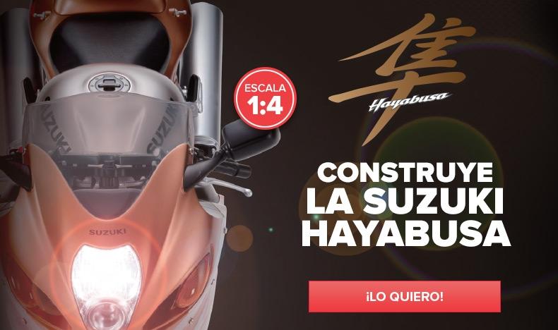 Construye la Suzuki Hayabusa
