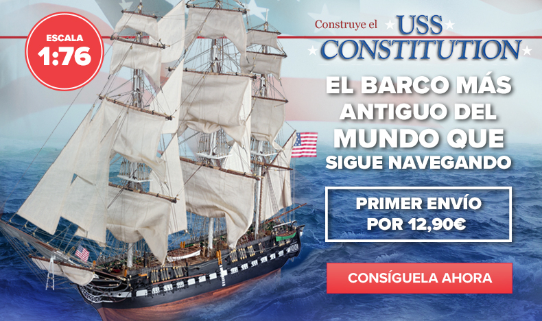 Construye l'USS Constitution