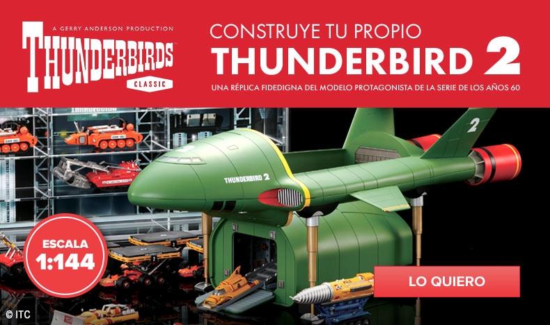 ¡Novedad! Construye el Thunderbird 2