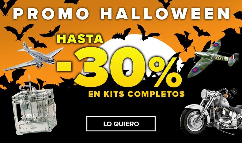 Promo Halloween - Hasta el 30% de descuento
