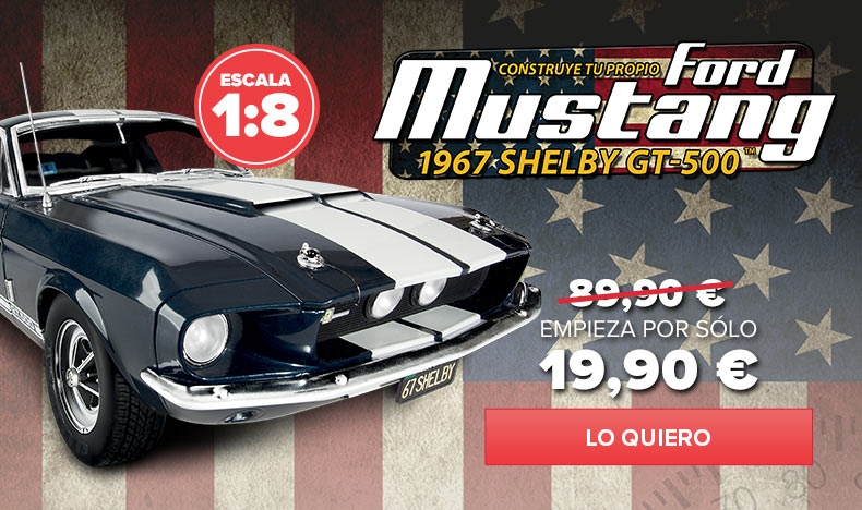 Construye el Ford Mustang