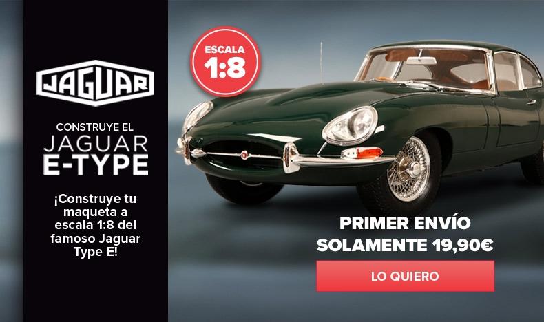 ¡Novedad! Construye el Jaguar E-type