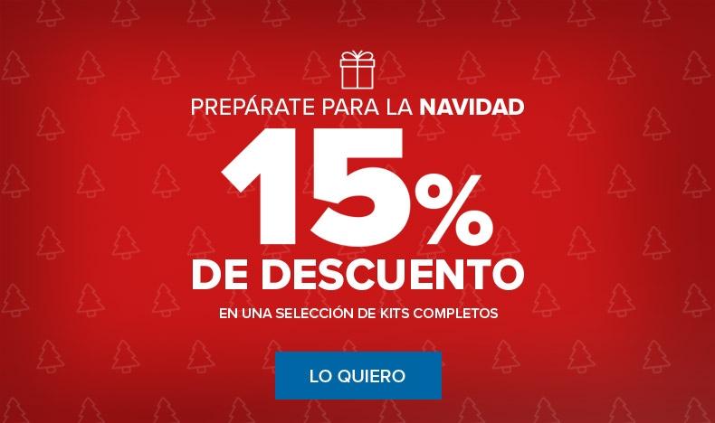 Prepárate para la Navidad - 15% de Descuento