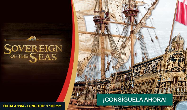 Construye el Sovereign of the Seas