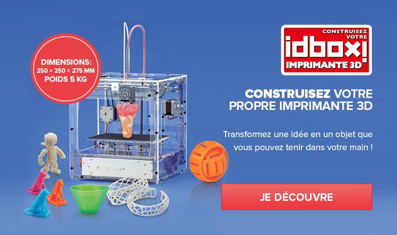 Construisez votre propre imprimante 3D - l'idbox!