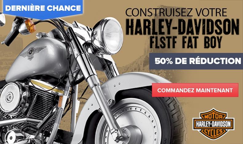 Harley-Davidson - 50% de réduction