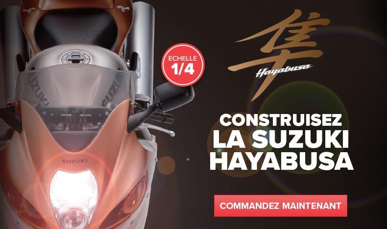 Construisez votre Suzuki Hayabusa