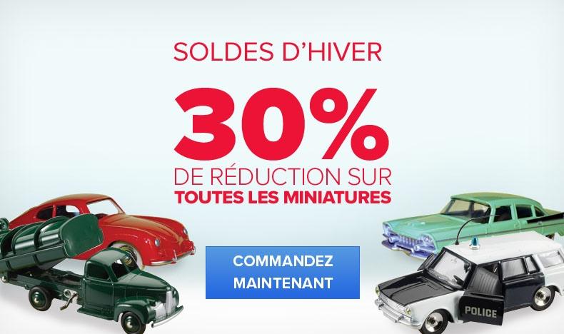 SOLDES D'HIVER - 30% DE RÉDUCTION