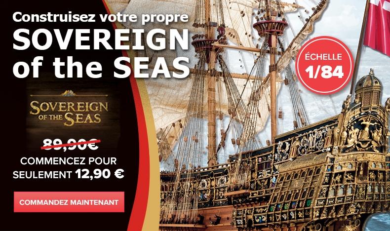 Construisez votre Sovereign of the Seas