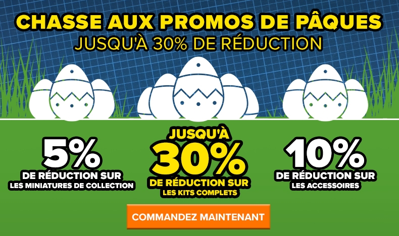 Promos de Pâques - jusqu'à 30% de réduction