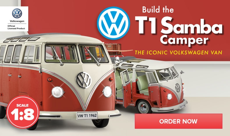 NOW AVAILABLE - VW Samba T1 Camper