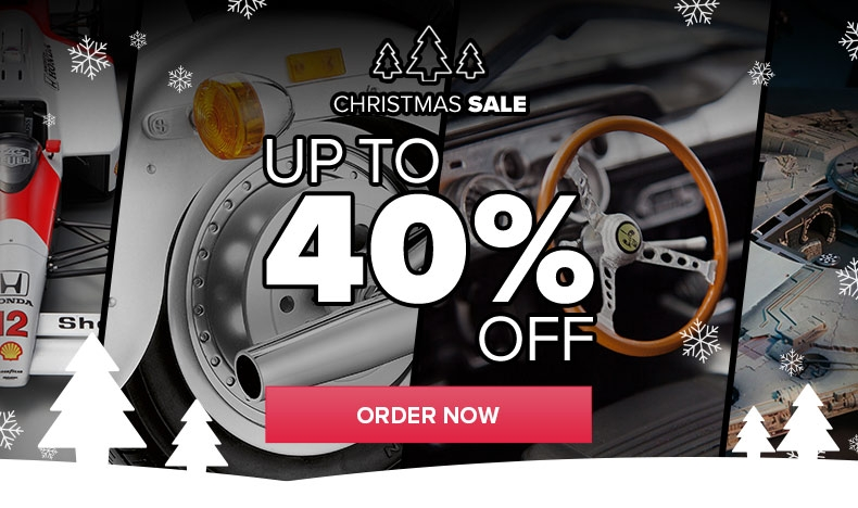 Christmas Sale: Up to  40% Off