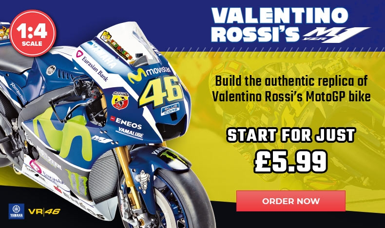 Build Rossi's Yamaha YZR-M1