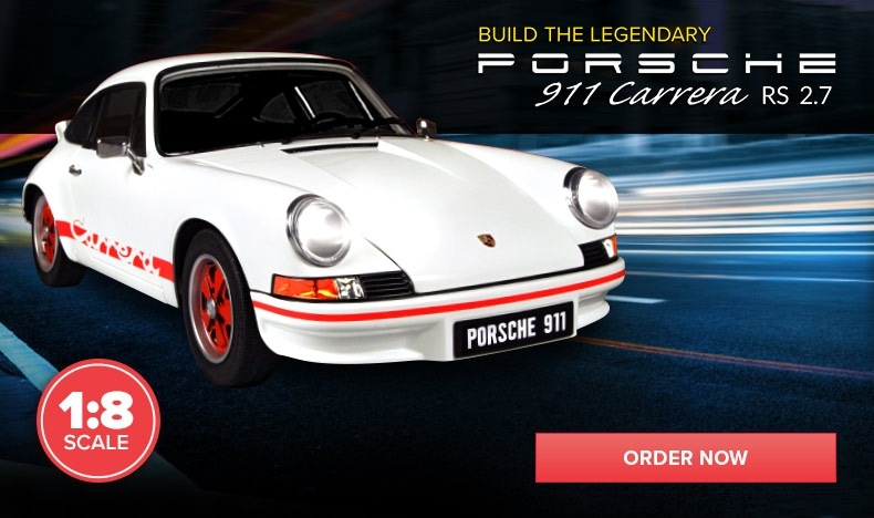 Build the Porsche 911 Carrera