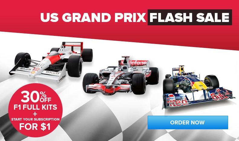 US Grand Prix Flash Sale