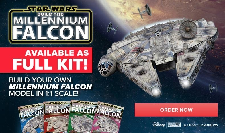 Build the Millennium Falcon - Full Kit
