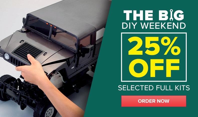 DIY Weekend - 25% Off Full Kits