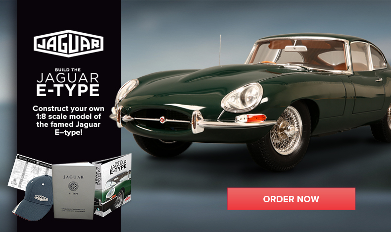 Build the Jaguar E-Type