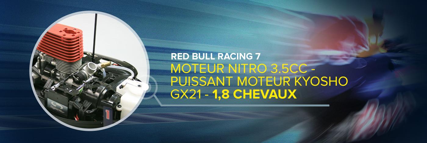 Contruisez et Pilotez votre Red Bull Racing RB7