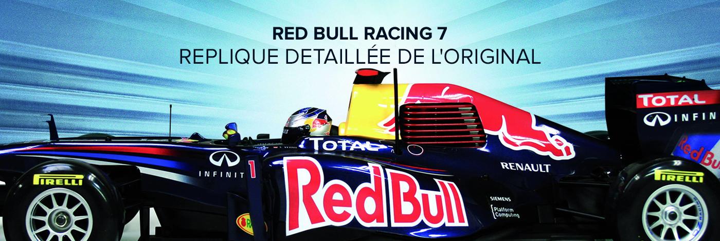 Contruisez et Pilotez votre Red Bull Racing RB7n