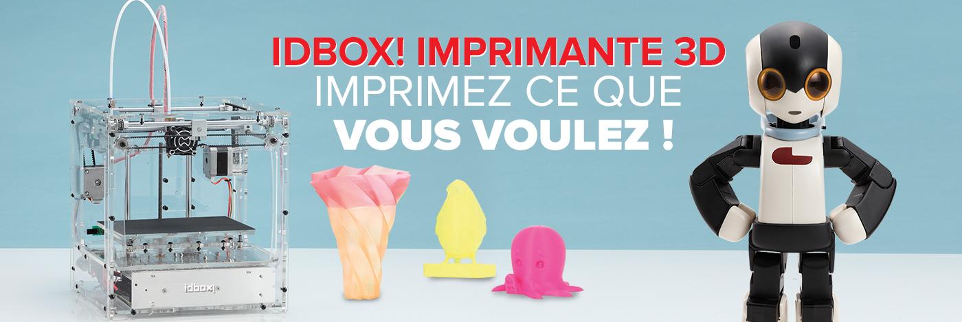 Imprimante 3D - Idbox!