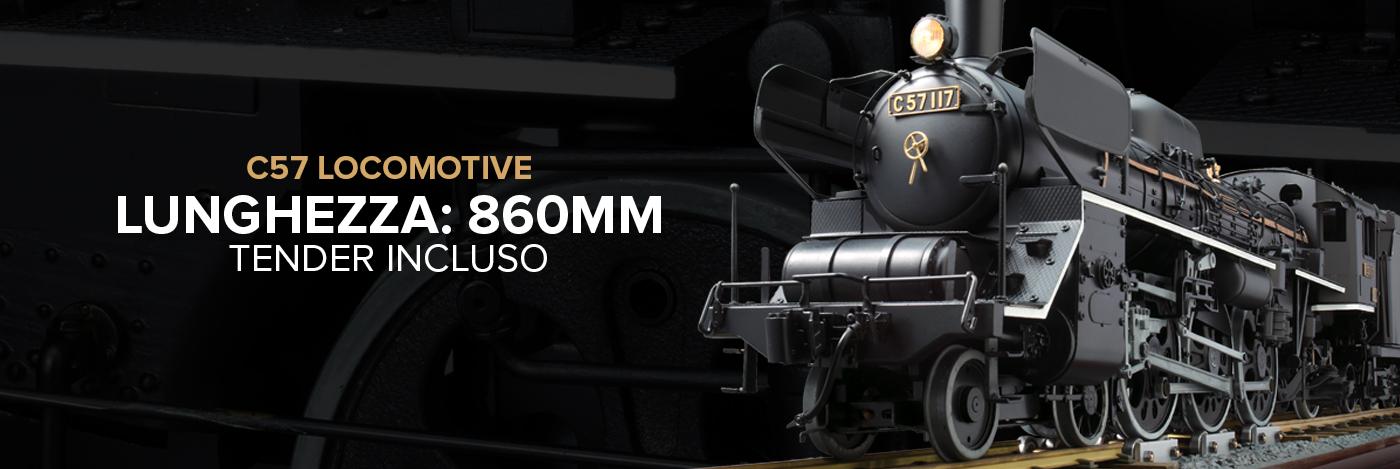 Costruisci la locomotiva C57