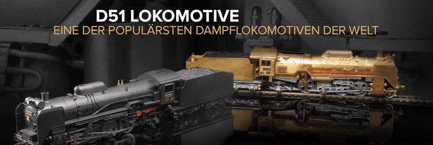 Die Dampflokomotive D51