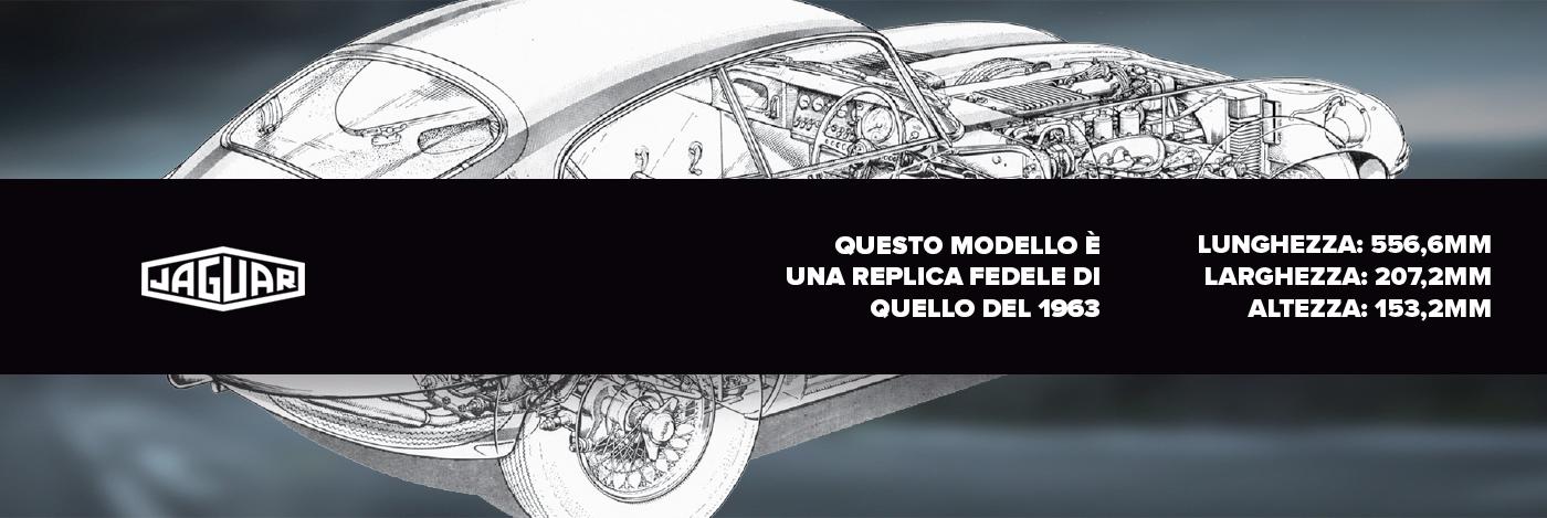 Costruisci la tua Jaguar E-type