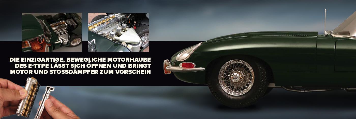 Bauen Sie den Jaguar E-type