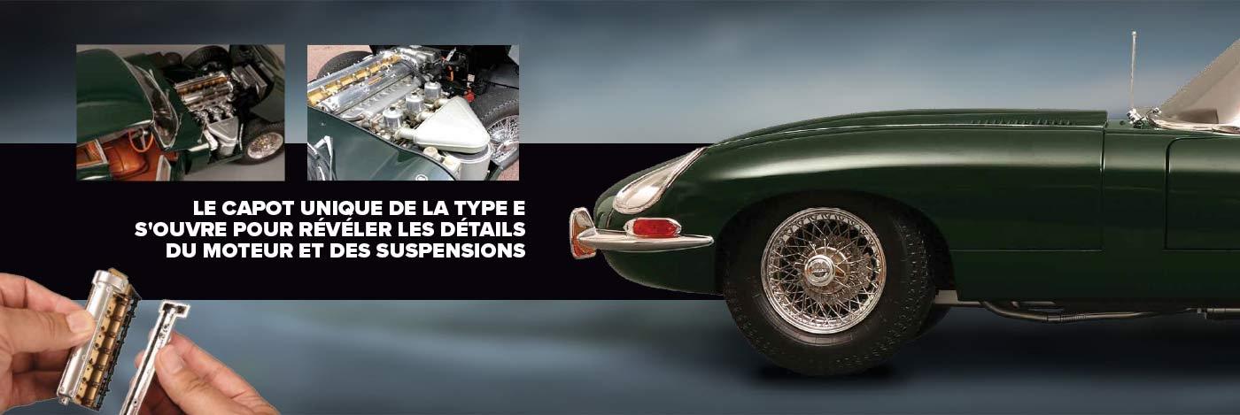 Construisez votre Jaguar E-type