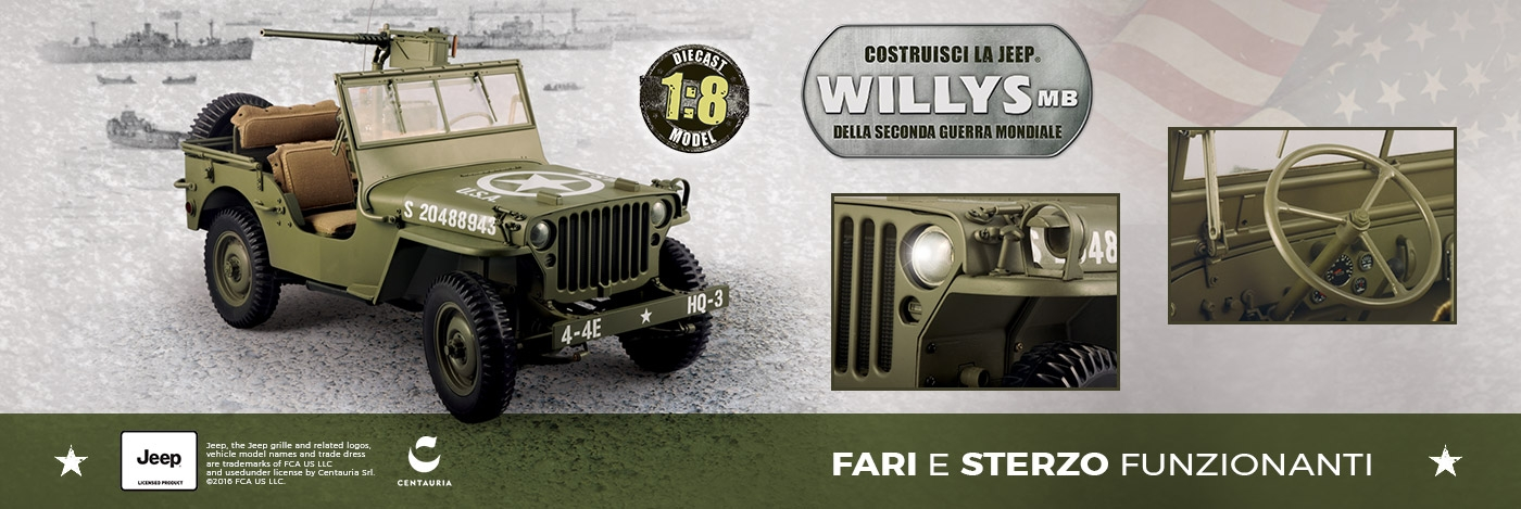 Costruisci la Jeep Willys