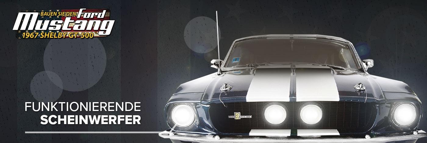 Bauen Sie den Ford Shelby Mustang