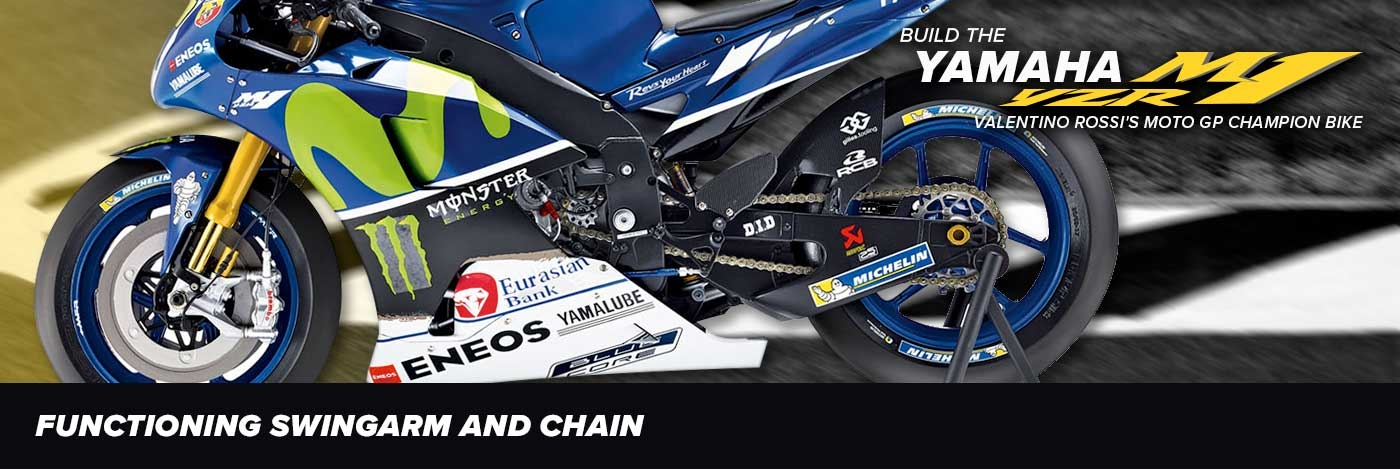 Build Valentino Rossi's Yamaha YZR-M1